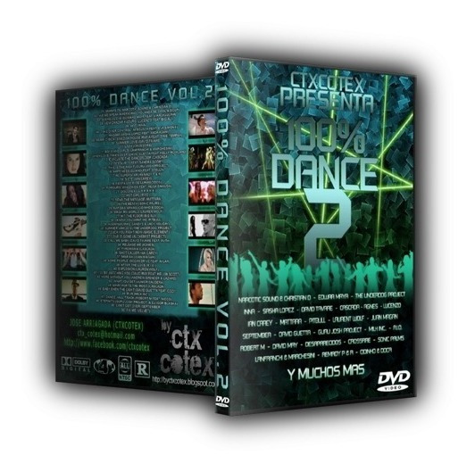 Dvd 100% Dance Vol.2 (importado, Original E Lacrado)