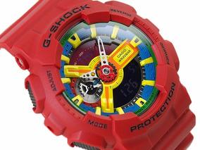 Relógio Masculino Casio G-shock Ga-110fc/1adr - Vermelho