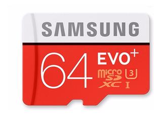 Samsung 100mb/s Class10 Cartão Microsd -64gb