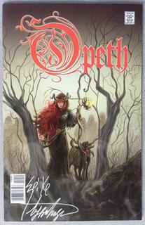 Comic Gibi Hq História Em Quadrinhos - Opeth ( Autografado )