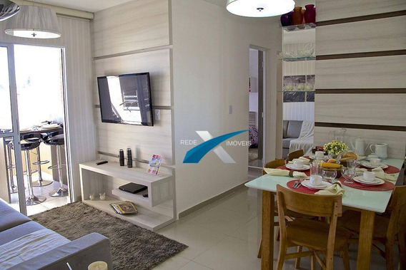 Lindo Apartamento Com Varanda Gourmet Para Venda No Villagio Safira, Caxangá, Suzano-sp - Ap4969