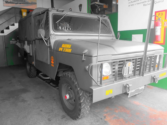 Envemo - Engesa - Militar - Ee-34 - Pick-up