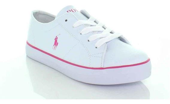 Sneakers, Calzado Dama, Blanco/rosa, Polo,11080f9j