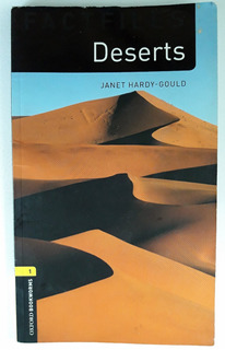 Libro Inglés - Desert - Autor Janet Hardy - Editorial Oxford