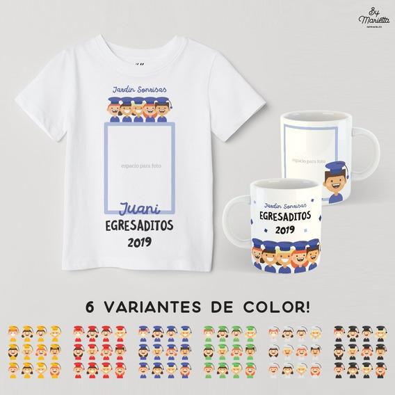 Remeras De Egresaditos, Jardin, Prescolar O Primaria.