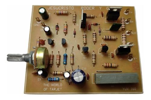 Imagen 1 de 7 de Tarjeta Zener Monofónica Con Controlador De Bajos Pelv