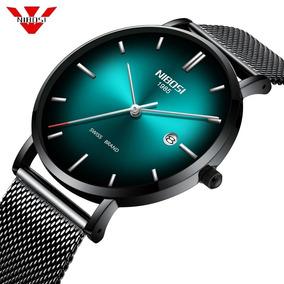 Relógio Nibosi Unissex Original A Prova D