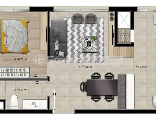 Imagem 1 de 14 de Apartamento, 1 Dormitórios, 44.05 M², Farroupilha - 178127