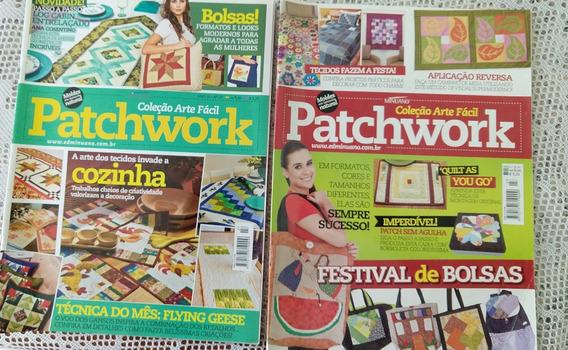 Revistas Patchwork/pintura Country - Lote 5 Edições