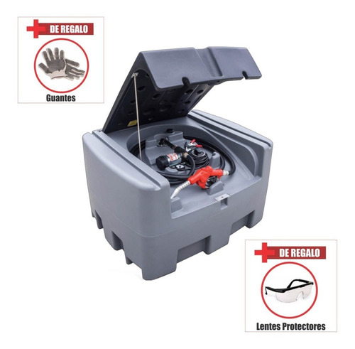 Imagen 1 de 2 de Tanque De Combustible 400 Lts Con Surtidor Incorporado Fema