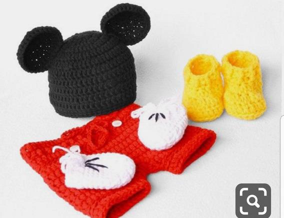 Mickey De Croche 0 A 12 Meses