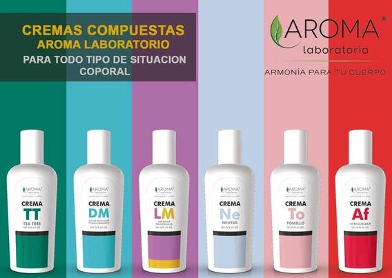 Colección De Cremas Compuestas Con Aceites Esenciales 100%