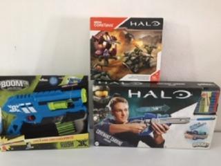 Pistola Halo Covenant Carbine,rush B,mega Contrux Halo Matte