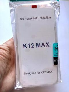 Capa 360 Graus Lg K12 Max Tela 6.26 + Película 3d Full Cover