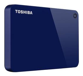 Disco Externo 1tb Toshiba Advance A Z U L Garantia 2 Años