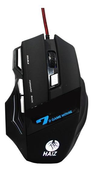 Mouse Gamer X7 7 Botões 3600dpi Luz Led Óptico