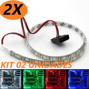 Kit 02 Fita Led Pc Gamer 50cm Prova D