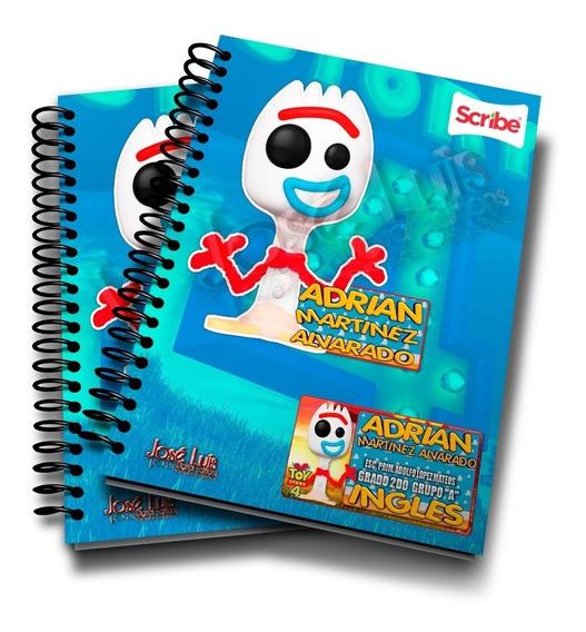 Forky 2 Toy Story 4 Kit Etiquetas Escolares 100% Editables