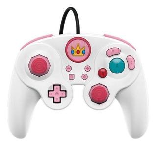 Control joystick PDP Fight Pad Pro peach