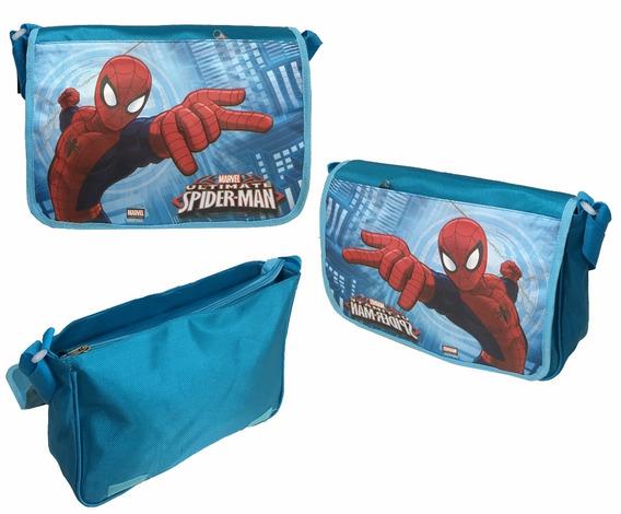 Bolsa De Nylon Transversal Homem Aranha Original Marvel
