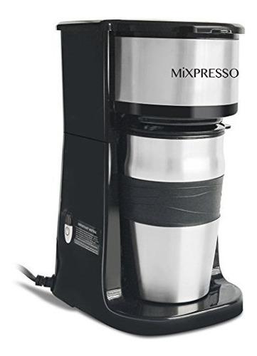 La Cafetera Mixpresso Single Cup Incluye Un Vaso De Vaso Tra