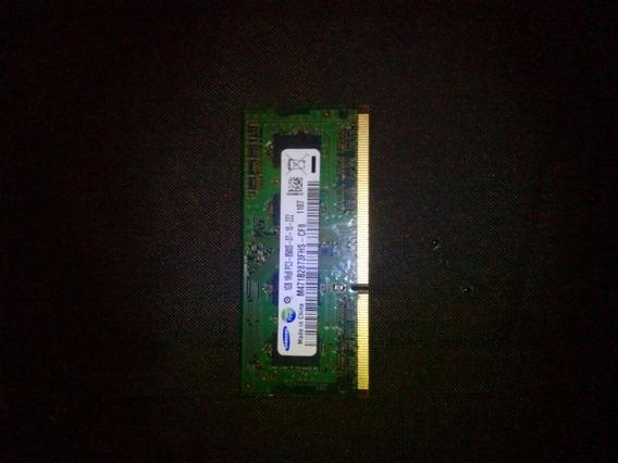 Memoria Samsung So-dimm Ddr3 1gb 1066mhz Pc3-8500s 07 10 Zzz