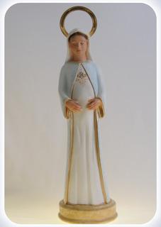 Imagem Nossa Senhora Gravida Durata 20 Cm Angelus