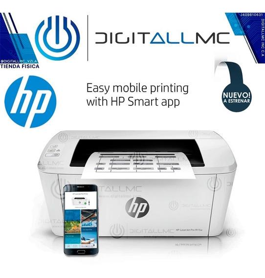 Super Oferta Impresora Hp Laserjet Pro M15w (119vds)