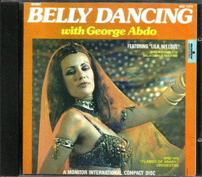 Cd Belly Dancing George Abdo Lila, My Love (u.s.a) Do Ventre