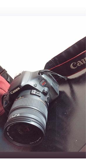 Camera Profissional Canon Eos Rebel T3i Com 2 Lentes