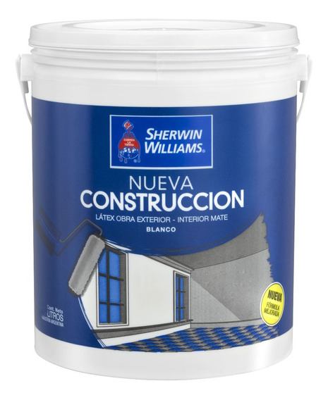 Pintura Latex Interior Exterior Mate 20 Lts Sherwin Williams