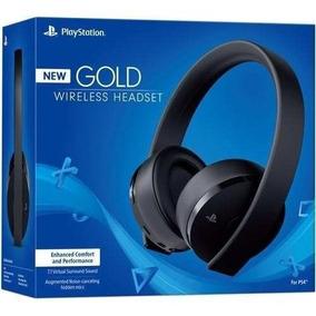 Headset Sony New Gold 7.1 Sony Para Ps3 / Ps4 / Psvita