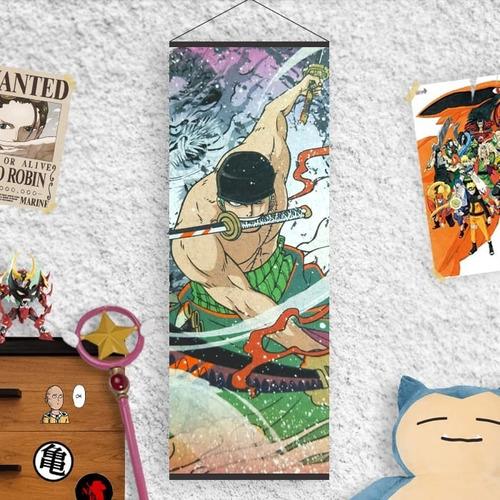 Imagen 1 de 10 de Tu Lona Roronoa Zoro - One Piece - Animeras