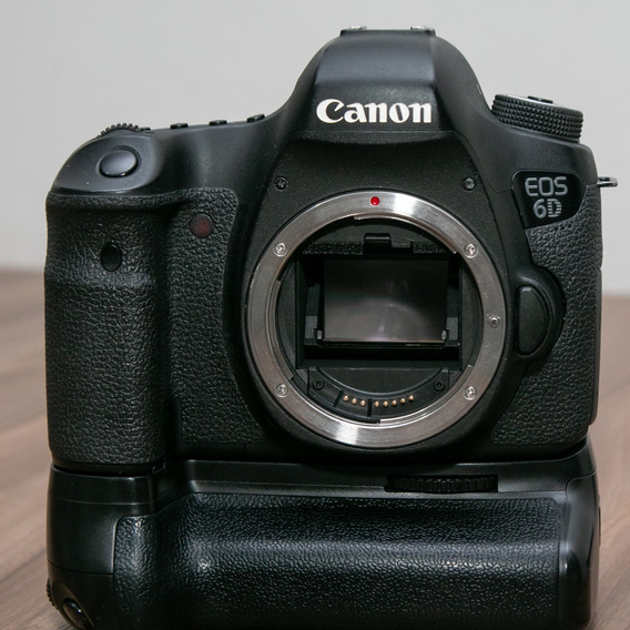 Canon 6d + 50mm 1.8 + Battery Grip