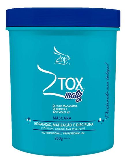 Máscara Btx Matizador Ztox Matiz Zap - 950g