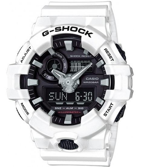 Relógio Casio G-shock Ga 700 Branco - Original