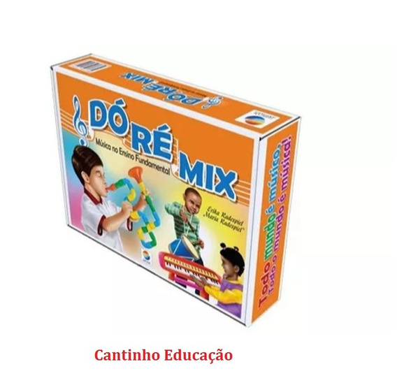 Coleção Do Re Mix Musica No Ensino Fundamental
