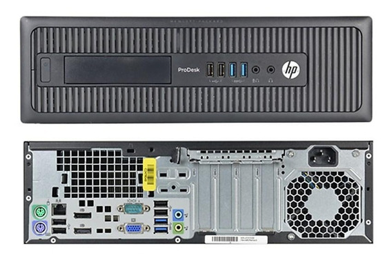 Desktop Hp Elitedesk 600g1 8gb Hd500 Intel Core I5 Completo