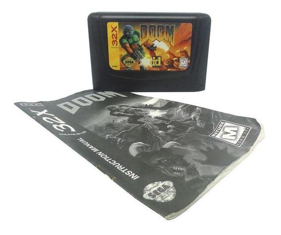 Doom Mega Drive Mídia Física Pronta Entrega