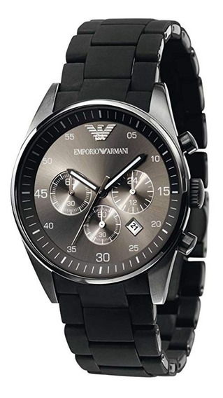 Relógio Emporio Armani Ar5889 Black Dial Sportivo