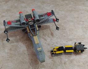 Lego Star Wars 7140 X-wing Fighter 263pçs