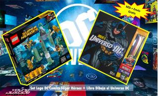 Set Lego Dc Super Heroes Aquaman Y Dibuja El Universo Dc