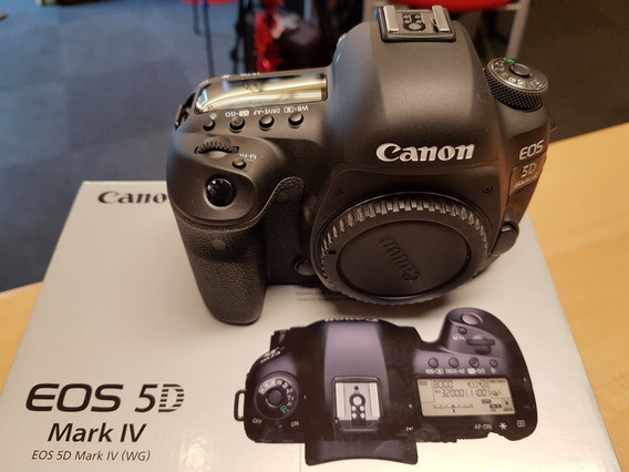 Canon 5d Mark Iv Original Completamente Nuevo Con Accesorios