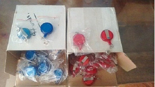 Yoyos Porta Carnets Redondos (pack X 5)