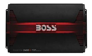 Boss Audio Pf2600 Phantom 2600 Watt, 4 Canales, 2/4 Ohm