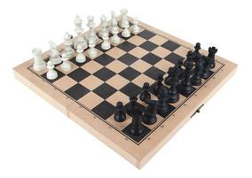 Jogo Xadrez Oficial Carlu Com 32 Peças Tabuleiro 1166