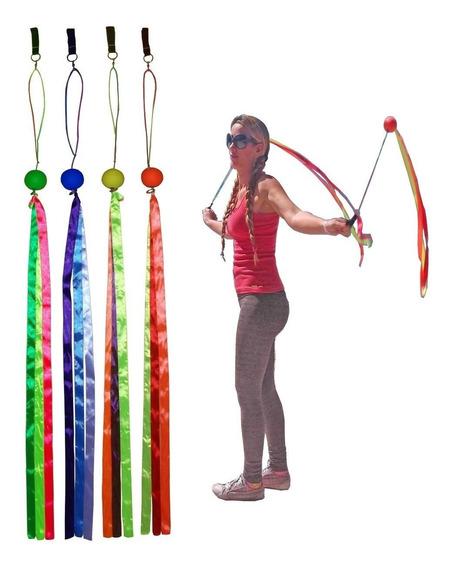 Swing Poi Fluorescente Profissional 38mm Malabares E Circo
