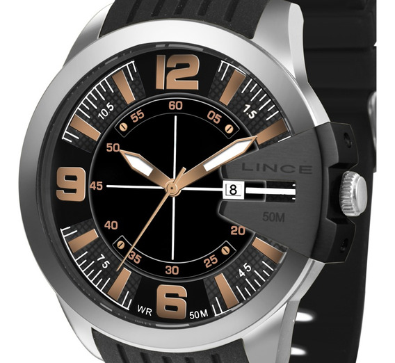 Relógio Lince Masculino Mrp4488s P2px C/ Garantia E Nf