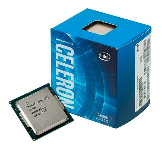 Processador Intel Celeron G3900 Box Lga 1151 2,80ghz 2m 6ª G