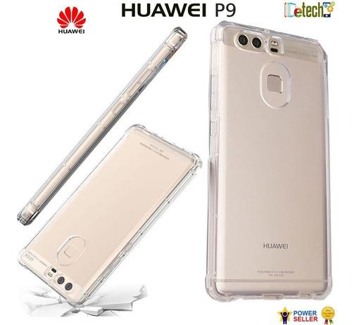 Forro Huawei P9 Case Transparente Goma Nuevo Original